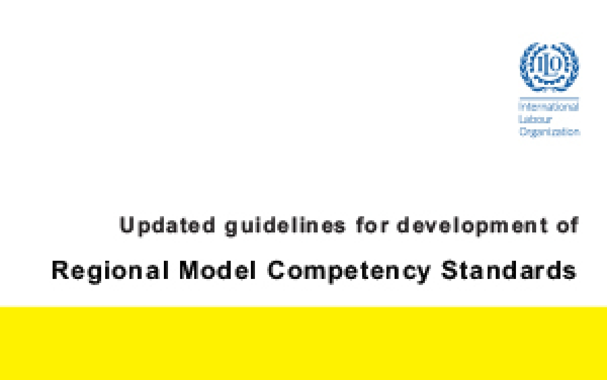 Updated guidelines for development of Regional Model Competency Standards